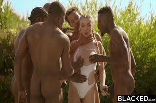 Межрассовое порно видео с неграми 2530